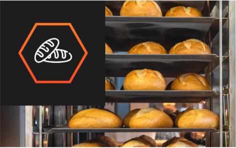 Contenedores isotérmicos para panaderías y pastelerías